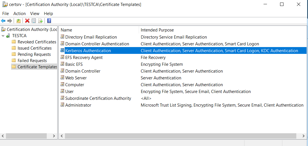 Security mendels weblog of domain controller authentication template which is a newer version of the very original domain controller template on of them good enough yadclub Images